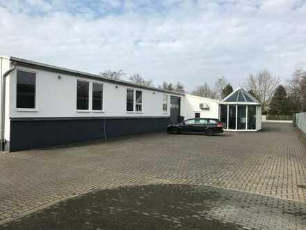 Zwei Gewerbehallen / Freiflächen /Büro auch einzeln gew.zu vermieten
