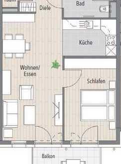 Erstbezug: schöne 2-Zimmer-Wohnung mit EBK und Balkon in Horb