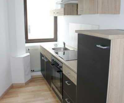 Singles aufgepasst !!! 1,5 Raum-Appartementwohnung mit Einbauküche ab sofort zu vermieten . . .
