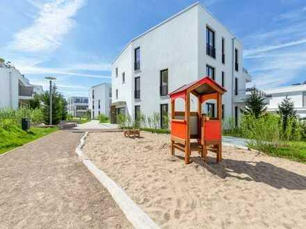 Schöne 3 Zimmer Wohnung mit eigenem Garten und Terrasse am Phoenix See!