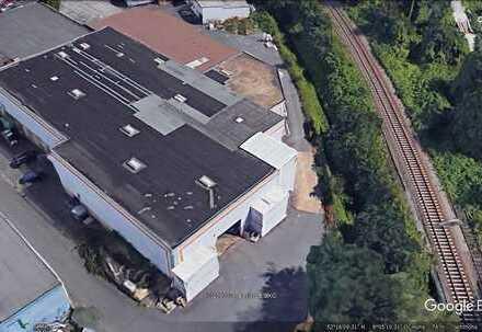 """Gewerbehalle mit LKW-Zufahrt 630 m² an der A 33/30 """" KAUTIONSFREI"""" zu vermieten"""