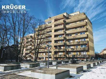 KA-Südweststadt / gemütliche 1-Zi-Whg mit Süd- Balkon & TG-Stellplatz / sofort bezugsfrei