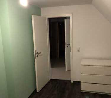Exklusive, vollständig renovierte 2-Zimmer-Dachgeschosswohnung mit Einbauküche in Karlstein am Main