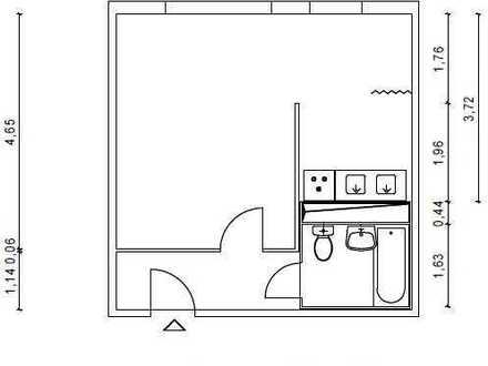 1 Zimmer Singlewohnung