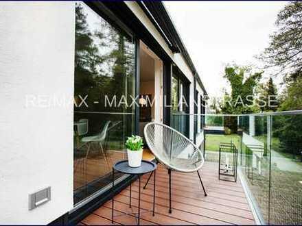 Luxuriöse, sonnige 4-Zi.-Etagenwohnung in Villenlage von Obermenzing rollstuhlgerecht konzipiert