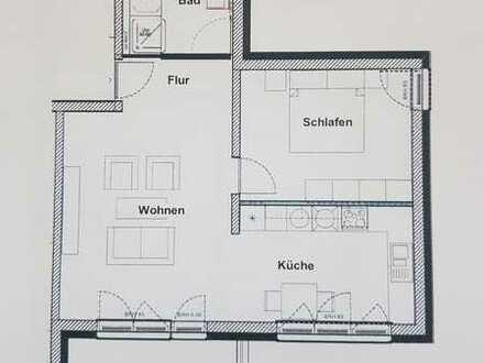 Exklusive, neuwertige 2-Zimmer-Wohnung mit Balkon und EBK in Amberg