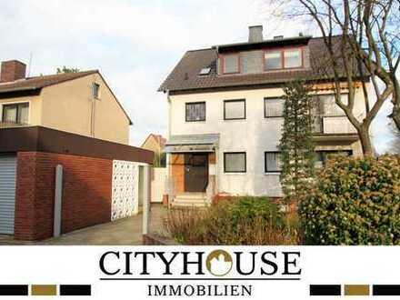 CITYHOUSE: Gepflegtes 2 Familienhaus zuzüglich ausgebauter DG Wohnung mit Wintergarten und Garage