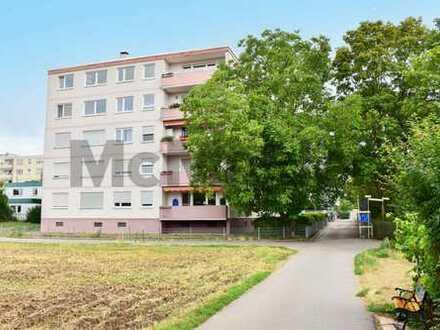 Sicher vermietet und verkehrsgünstig: Gepflegte 3-Zi.-ETW mit Südwest-Loggia in Heidelberg