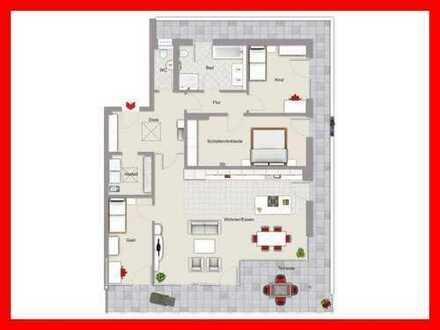 Exklusives Wohnen im Penthouse - Erstbezug