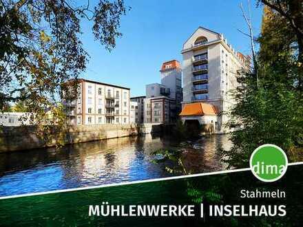 ERSTBEZUG | Mühlenwerke | Inselgebäude | inkl. EBK | Balkon mit Traumblick | 2 Bäder | 2 Stellplätz