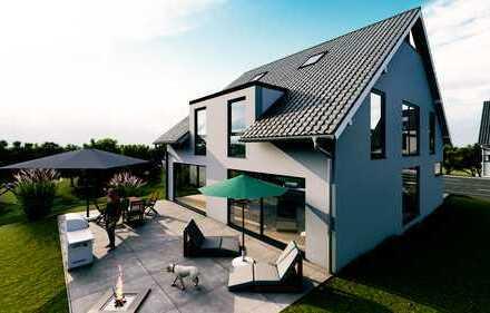 Modernes Einfamilienhaus + Spitzbodenausbau frei planbar mit Garage (ca.165m² schlüsselfertig)