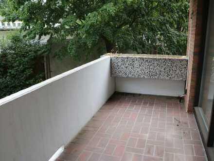 Helle ruhige 2 Zimmer mit grossem Balkon in grüner Lage von DEL-Deichhorst