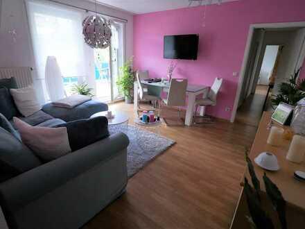 Sonnige und sehr gepflegte 3-Zimmer-Wohnung mit Balkon in Steinach/Thüringen