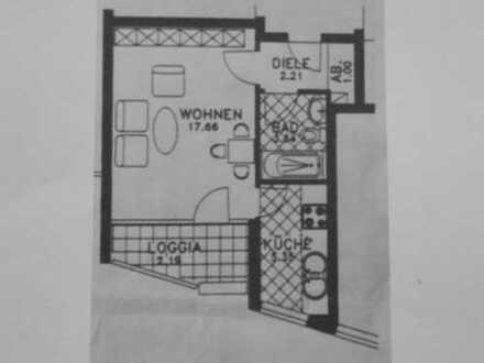 Sympathisches 1-Raum-Appartement mit Balkon in Do-Innenstadt