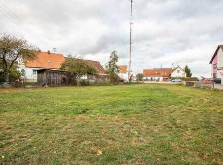 Baugrundstück für Mehrfamilienhaus in Lichtenau