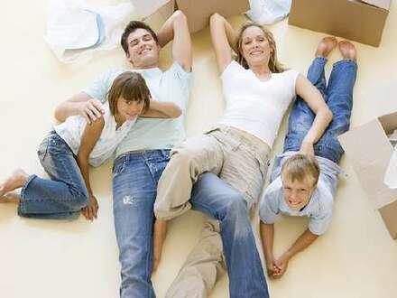 Nutzen Sie das Baukindergeld: Tolle Familienwohnung mit Garten!