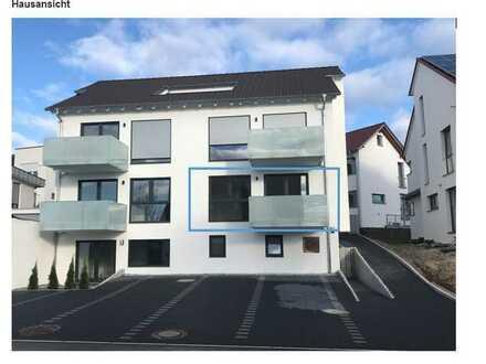 Exklusive mit Balkon: exklusive 2-Zimmer-Wohnung in Schlaitdorf