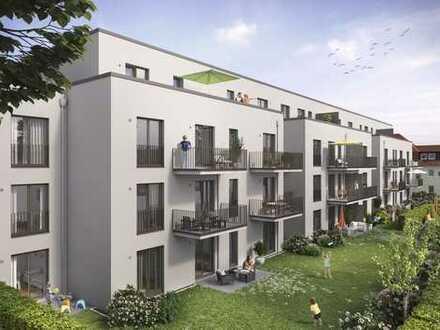 Provisionsfreie 3-Zimmer-Neubauerdgeschosswohnung mit Gartenanteil - 80 % bereits verkauft!