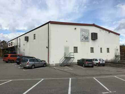 Lagerhalle, Gewerbehalle mit Freifläche, individueller Umbau möglich