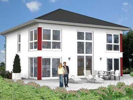 Stadthausvilla In Straubing Bogen im neu zu erschließenden Baugebiet