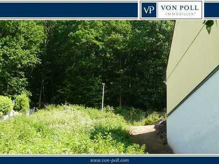 Südlage : Grundstück für Doppelhaushälfte direkt am Waldrand