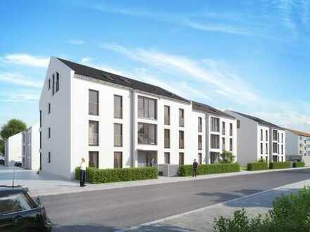3 - Zimmer Neubauwohnung mit Terrasse und Garten