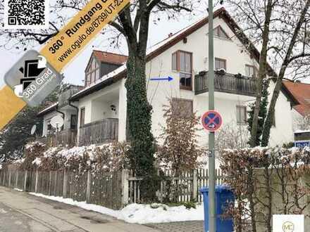 DG-Wohnung, gepflegt, ca.80m² nutzbare Fläche, ruhige Wohnlage, ca. 375m Fußweg zur S2