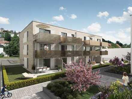 3-Zimmer-Wohnung mit großer Terrasse und Gartenanteil zur privaten Nutzung