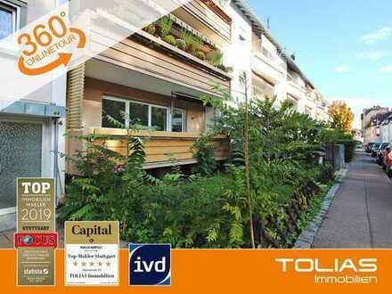 Glücksgriff! Frisch renovierte 3-Zimmer-Wohnung mit Balkon und Gartennutzung
