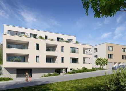 Anspruchsvolle 2-Zimmer-Wohnung mit Dachterrasse (Whg. 7)