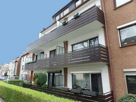 Neustadt, modernisierte Apartment-Wohnung mit Balkon und Stellplatz