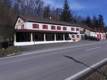 neu renovierte Gaststätte im wunderbaren Schambachtal