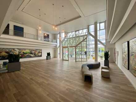 Renovierte und klimatisierte 300m² Bürofläche mit Dusche im Erdgeschoss