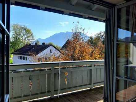 Stilvolle 4-Sterne Maisonette-Ferienwohnung mit Blick auf das Kaisergebirge in Oberaudorf