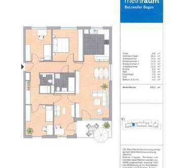 Neuwertige 5-Zimmer-Wohnung mit Balkon in Ossendorf, Köln