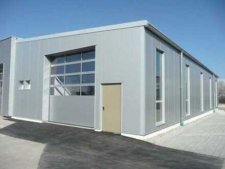 Neubau, moderne hell ausgestattete Lager-, Werkstatt und Produktionsfläche in Augsburg