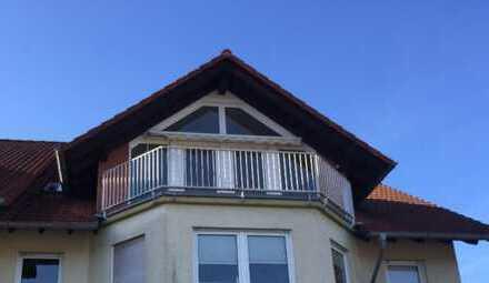 Gepflegte 3-Zimmer-Dachgeschosswohnung mit Balkon in Gelnhausen