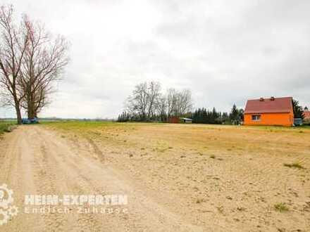Großes Grundstück in Wiesenaue - Potential für zwei Einfamilienhäuser - Teilung möglich
