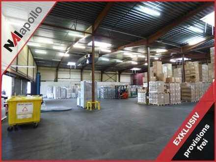 Provisionsfrei | 4.500 qm Halle | Rampe | kurzfristig verfügbar | € 3,90 / qm