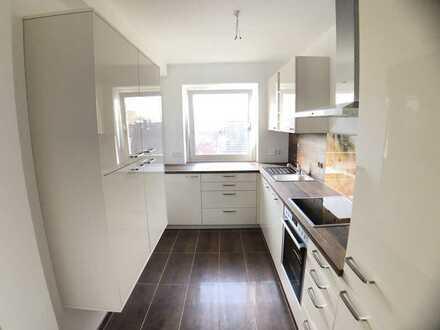 Modernisierte, ruhige 2-Zimmer-Wohnung mit Balkon und neuer Einbauküche in Karlsfeld