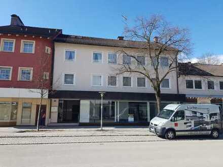 ... attraktive Büro-Praxisfläche in gut sichtbarer und 1A-Lage in Waldkraiburg ...