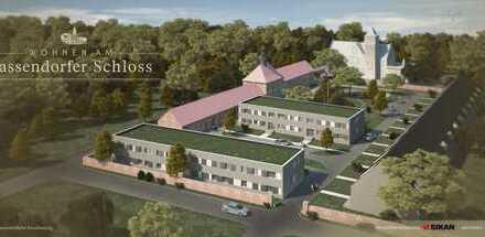 Hochwertig ausgestattete 3-Zimmer-Wohnung im begrünten Schlosshof mit großer Terrasse