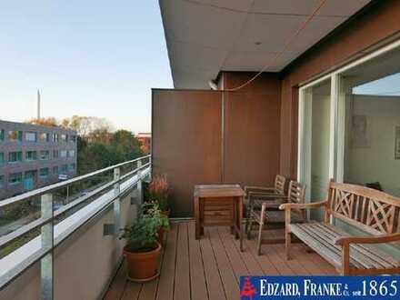 Traumhafte Wohnung mit 2 Dachterrassen nahe der Uni