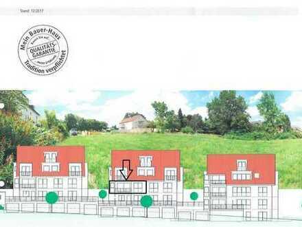 Erstbezug Stadtvilla: großzügige 3,5-Zimmer-Wohnung mit EBK, Garage und sonnigem Balkon