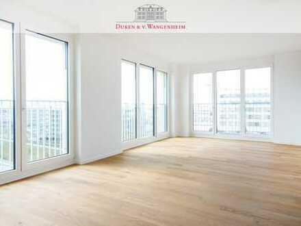 Erstbezug 4-Zimmer Wohnung. Mit eigener Dachterrasse.