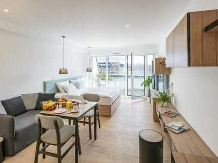 Vollmöbliertes Apartment im Herzen Darmstadts