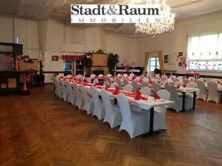 Historisches Gasthaus mit großem Festsaal in prachtvoller Umgebung
