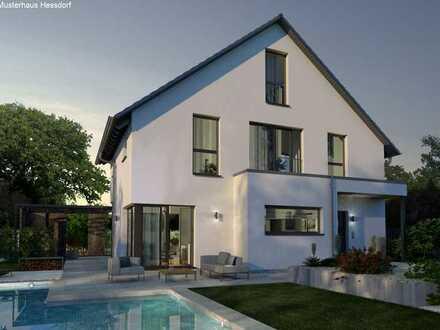 neues Haus KFW 40+ mit wunderbarem Talblickbei Altdorf Hagenhausen
