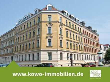 1-Zimmer-Wohnung mit Balkon und Wannenbad in Anger-Crottendorf