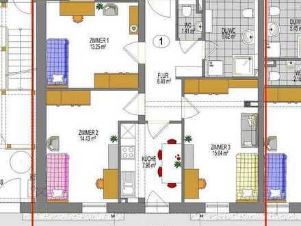 Zimmer frei in 3er-WG - Altbau neu saniert –